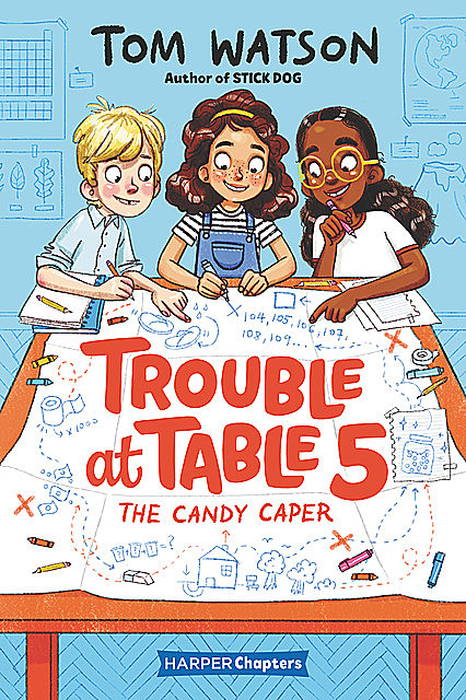 Trouble at Table 5 #1: The Candy Caper, Tom Watson