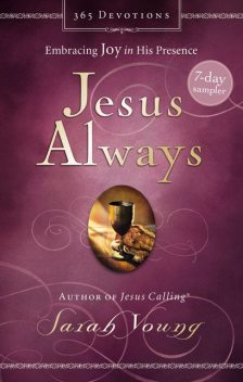 Jesus Always 7-Day Sampler, Sarah Young