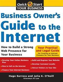 Business Owner's Guide to the Internet, Julia K. O'Neill