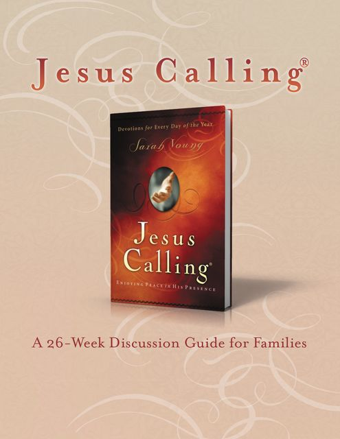 Jesus Calling Book Club Discussion Guide for Families, Thomas Nelson