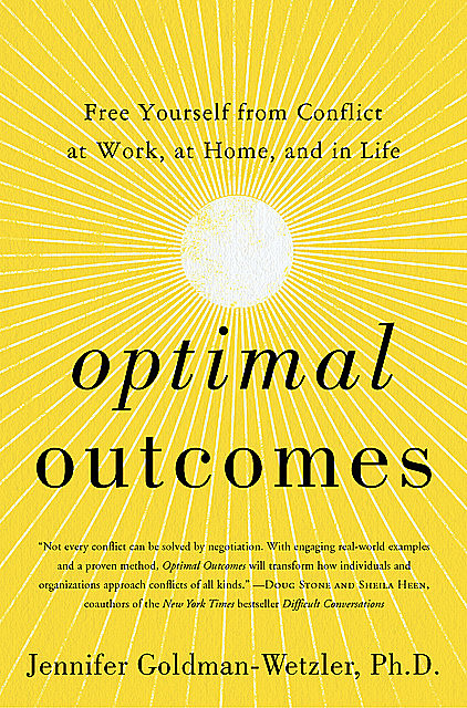 Optimal Outcomes, Jennifer Goldman-Wetzler