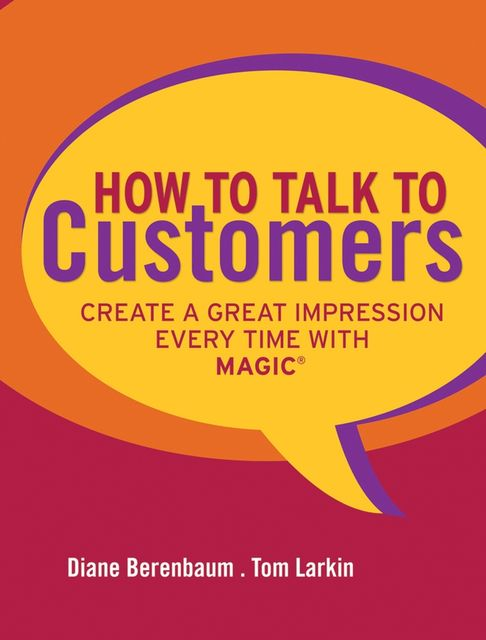 How to Talk to Customers, Diane Berenbaum