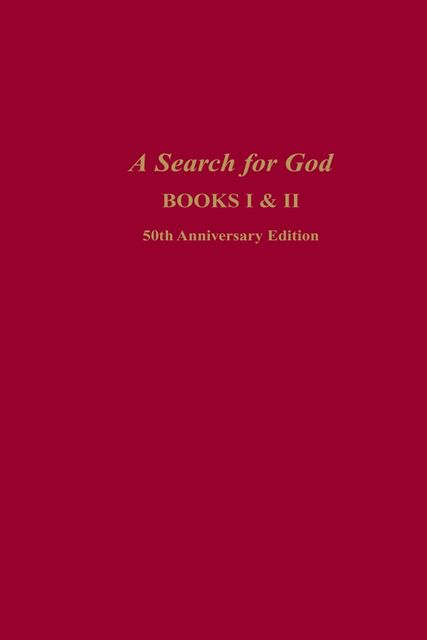 A Search for God Anniversary Edition, Edgar Cayce