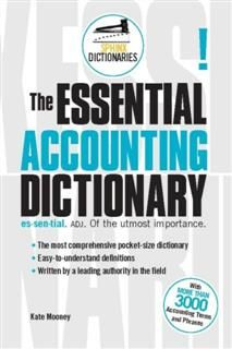 Essential Accounting Dictionary, Kate Mooney