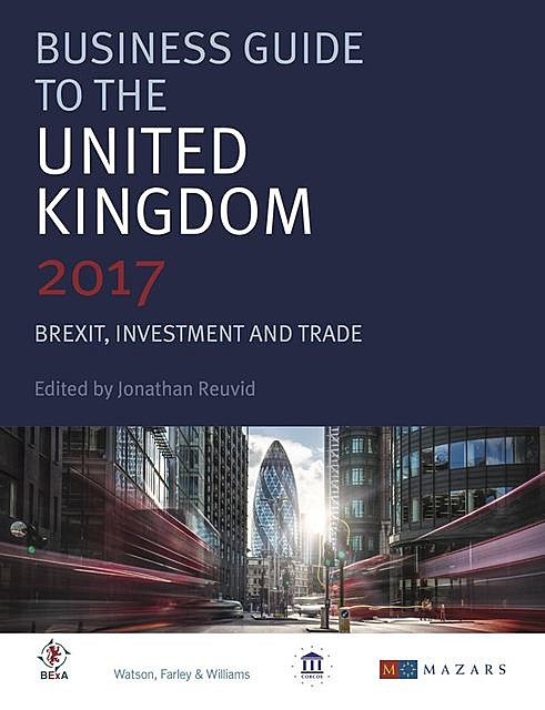 Business Guide to the United Kingdom, Jonathan Reuvid