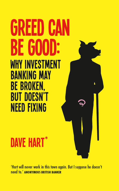 Greed Can Be Good, David Charters