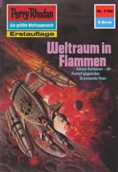 Perry Rhodan 1166: Weltraum in Flammen, Detlev G. Winter