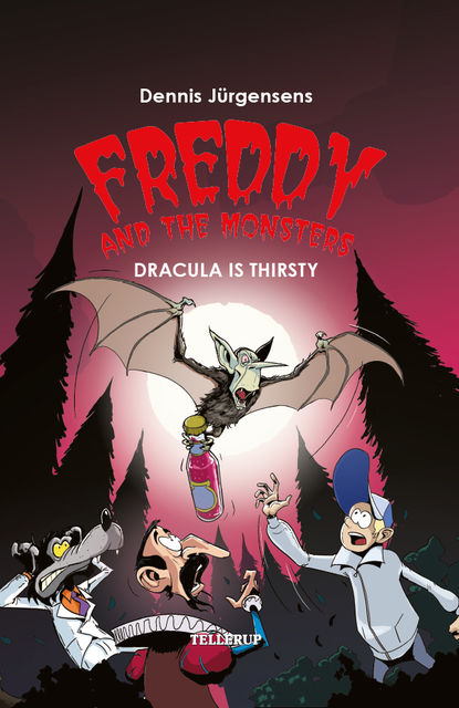 Freddy and the Monsters #3: Dracula is Thirsty, Jesper Lindberg