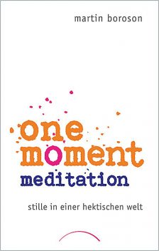 One Moment Meditation, Martin Boroson
