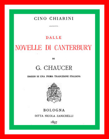 Dalle Novelle di Canterbury, Geoffrey Chaucer