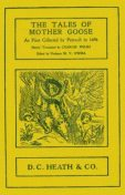 The Tales of Mother Goose / As First Collected by Charles Perrault in 1696, Charles Perrault