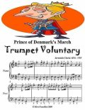 Prince of Denmark's March Trumpet Voluntary Easy Piano Sheet Music, Jeremiah Clarke