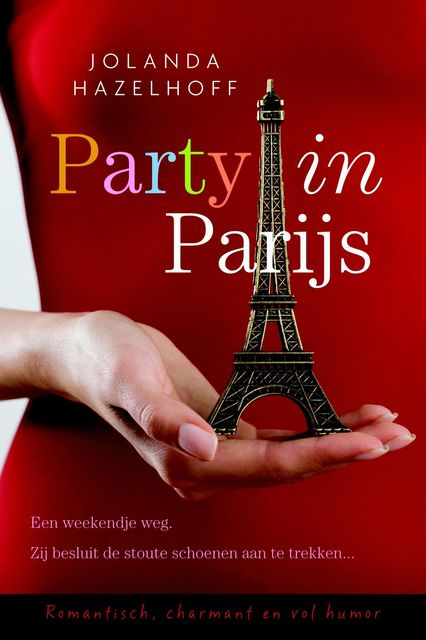 Party in parijs, Jolanda Hazelhoff