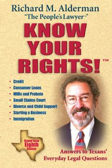Know Your Rights, Richard M. Alderman