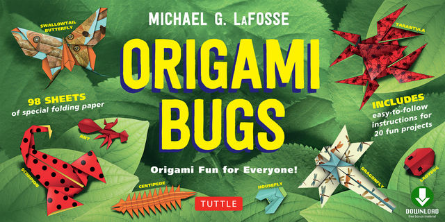 Origami Bugs, Michael G. LaFosse