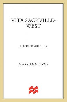 Vita Sackville-West, Vita Sackville-West