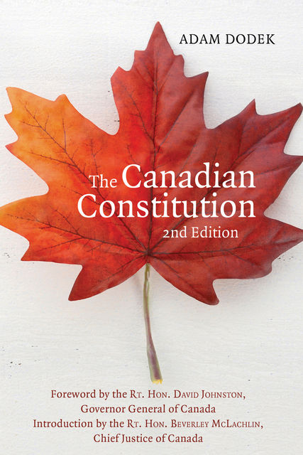 The Canadian Constitution, Adam Dodek