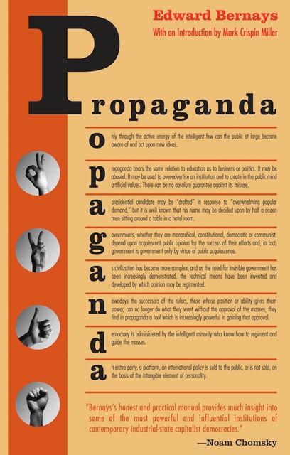Propaganda, Edward Bernays