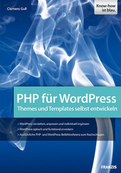 PHP für WordPress, Clemens Gull
