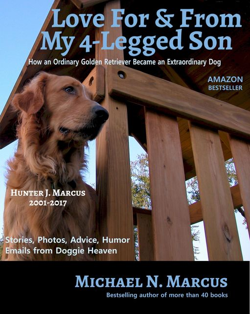 Love For & From My 4-Legged Son: How an ordinary golden retriever became an extraordinary dog, Michael N Marcus
