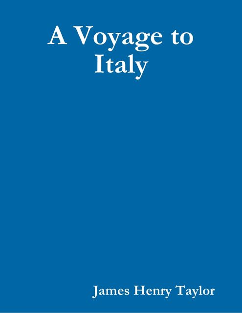 A Voyage to Italy, James Taylor