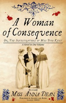 A Woman of Consequence, Anna Dean