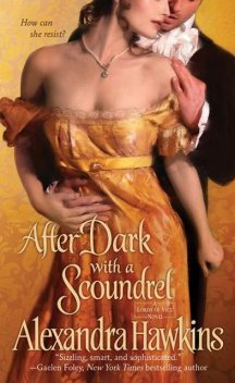 After Dark with a Scoundrel, Alexandra Hawkins