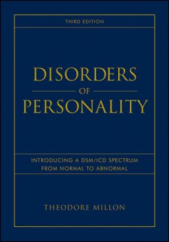Disorders of Personality, Theodore Millon