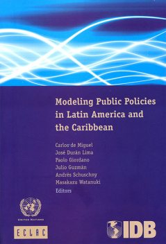 Modeling Public Policies in Latin America and the Caribbean, Economic Commission for Latin America, the Caribbean