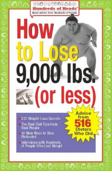 How to Lose 9,000 lbs. (or Less), Jennifer Reich, Joan Buchbinder