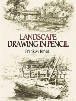 Landscape Drawing in Pencil, Frank M.Rines