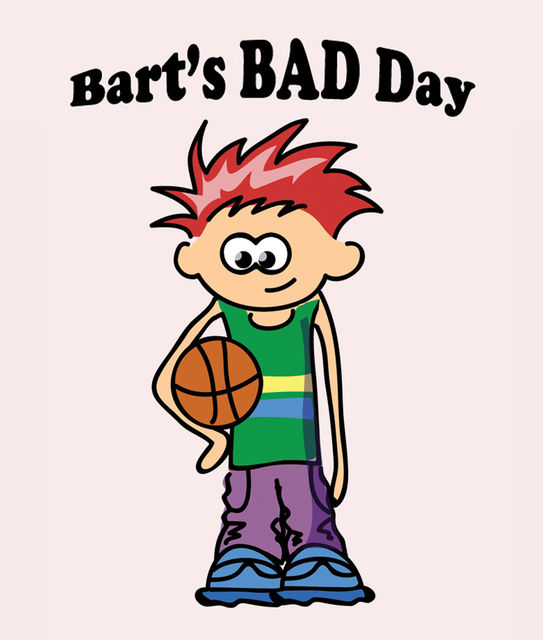 Bart`s Bad Day, Jupiter Kids