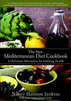 The New Mediterranean Diet Cookbook, Nancy Jenkins