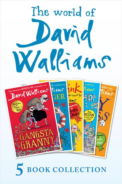 The World of David Walliams 5 Book Collection (The Boy in the Dress, Mr Stink, Billionaire Boy, Gangsta Granny, Ratburger), David Walliams