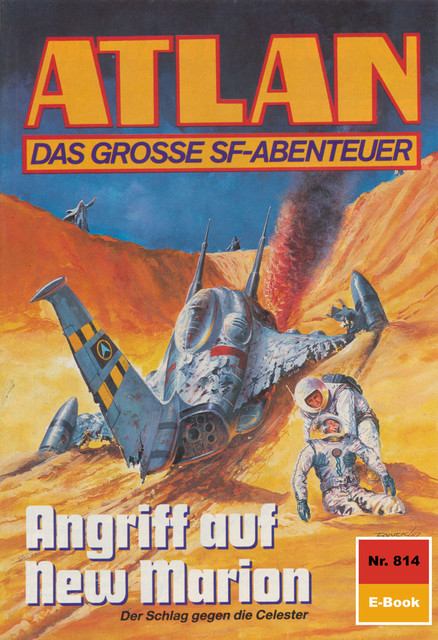 Atlan 814: Angriff auf New Marion, Peter Griese
