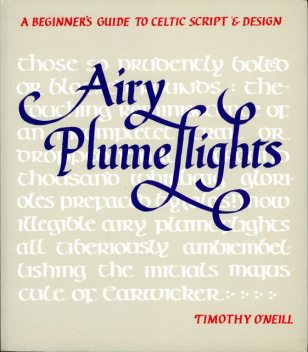 Airy Plumeflights, Timothy O'Neill