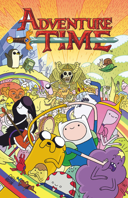 Adventure Time Vol. 1, Ryan North, Mike Holmes, Shelli Paroline