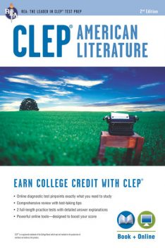 CLEP® American Literature Book + Online, Jacob Stratman