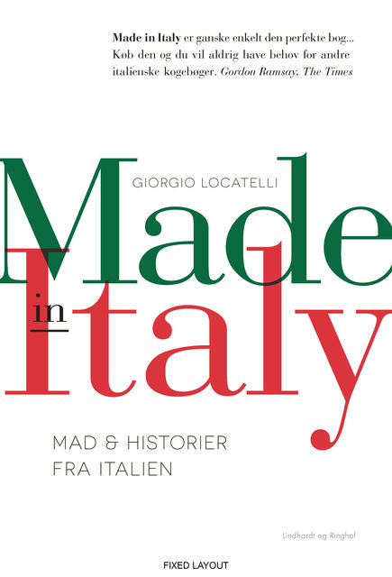 Made in Italy, Giorgio Locatelli