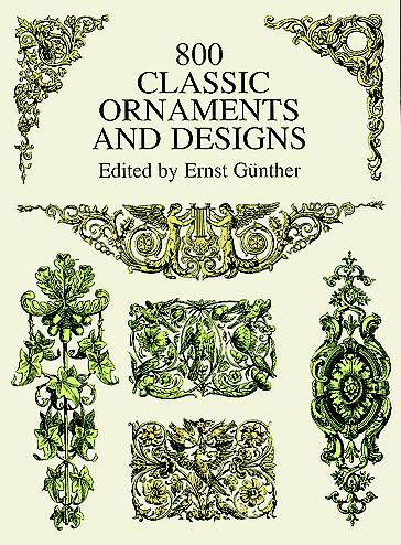 800 Classic Ornaments and Designs, Ernst Günther
