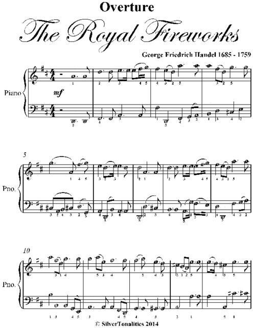 Over the Waves Easiest Piano Sheet Music, Juventino Rosas