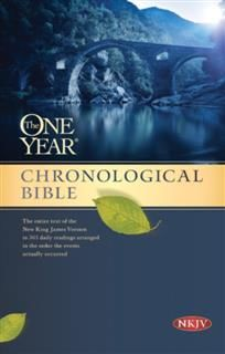 One Year Chronological Bible NKJV, Tyndale House Publishers