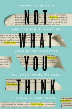 Not What You Think, Michael McAfee, Lauren Green McAfee