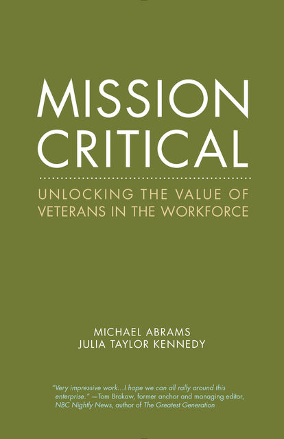 Mission Critical, Julia Taylor Kennedy, Michael Abrams