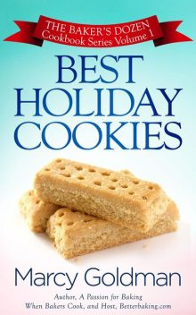 Best Holiday Cookies, Marcy Goldman