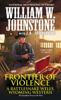 Frontier of Violence, William Johnstone, J.A. Johnstone