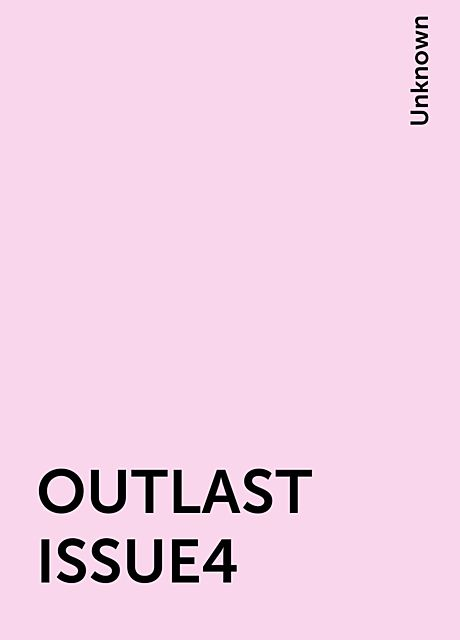 OUTLAST ISSUE4,