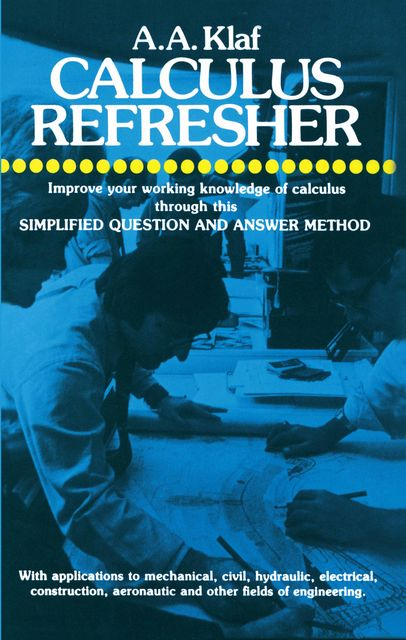 Calculus Refresher, A.A.Klaf
