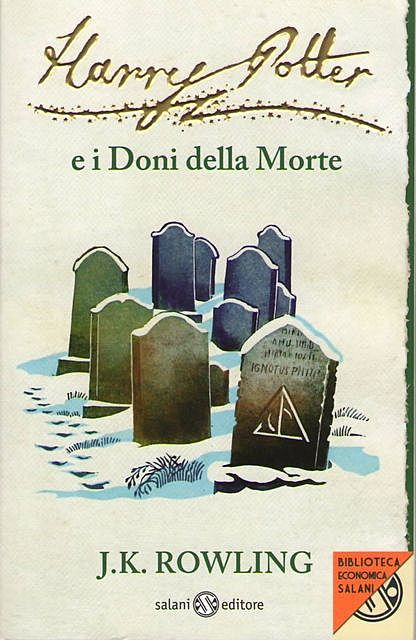Harry Potter e i Doni della Morte, J.K. Rowling