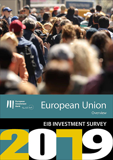 EIB Group Survey on Investment and Investment Finance 2019: EU overview, European Investment Bank
